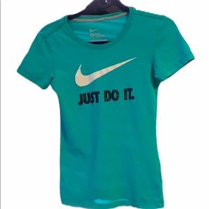 Just Do It Nike Fitted Tee